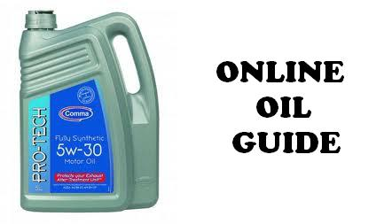 online oil guide