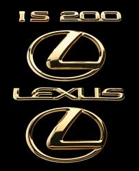 Lexus IS200 badge