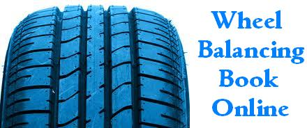Book Online for Wheel Balancing